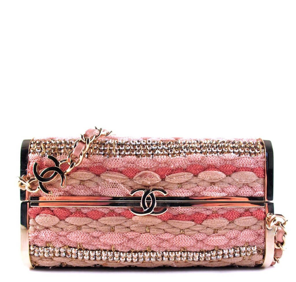 0a3cb3c1aca1 Chanel Box Minaudiere Shoulder Bag Limited Edition | Baghunter