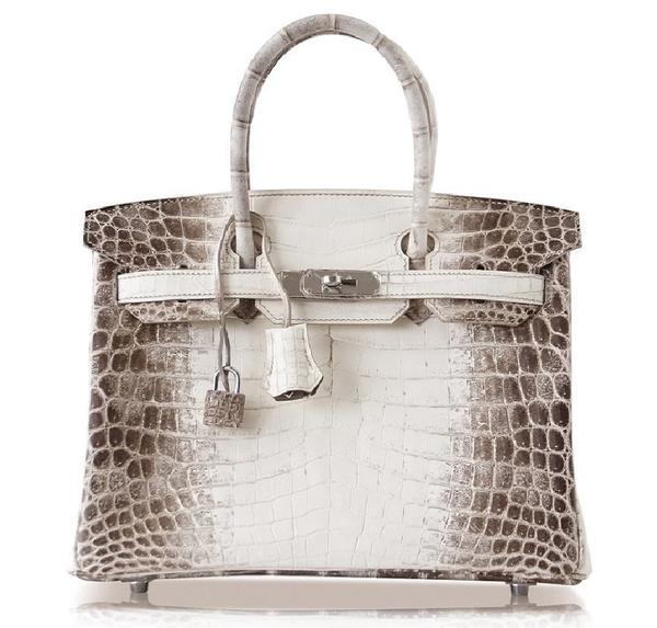 Hermès Birkin 25 Blanc Himalaya Crocodile Bag PHW