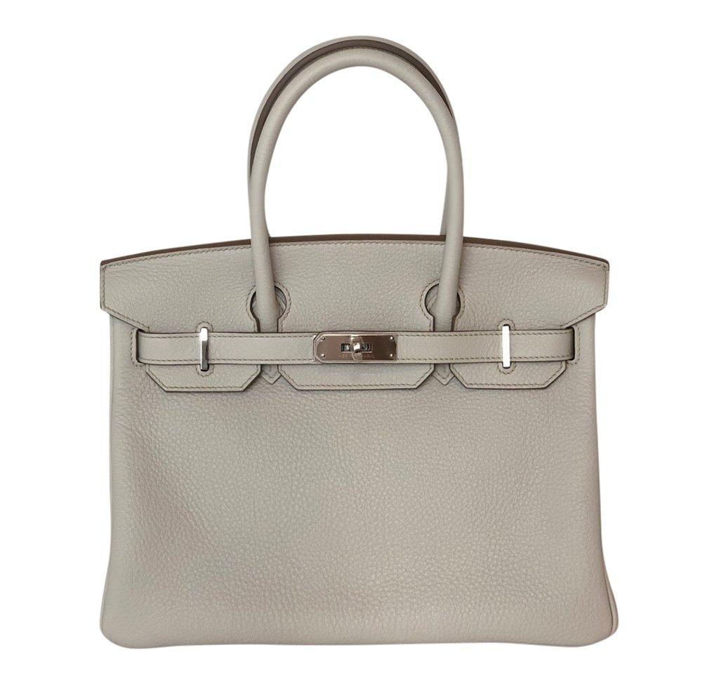 Hermès Birkin 30 Gris Perle Togo PHW