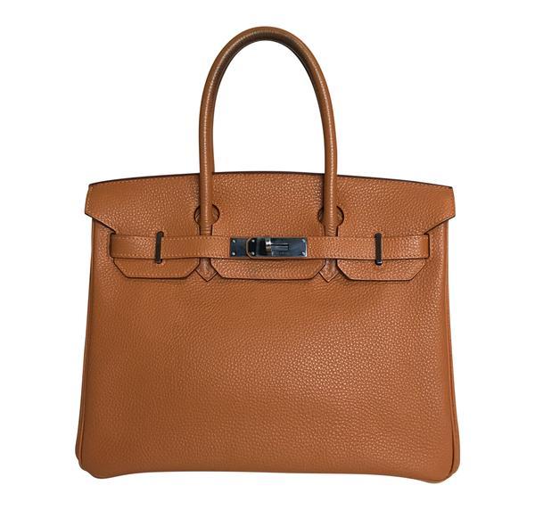 Hermès Birkin 30 Potiron Orange Togo PHW