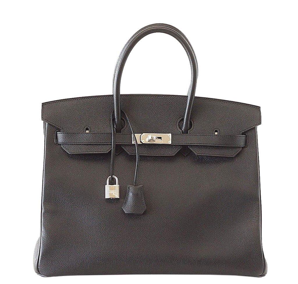 Hermès Birkin 35 Bag Black Epsom PHW