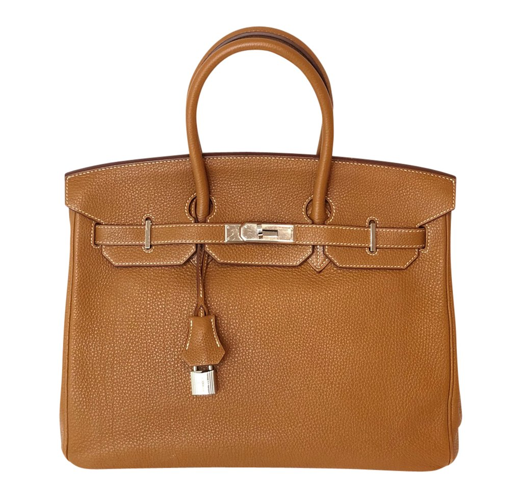 Hermès Birkin 35 Bag Gold Togo PHW