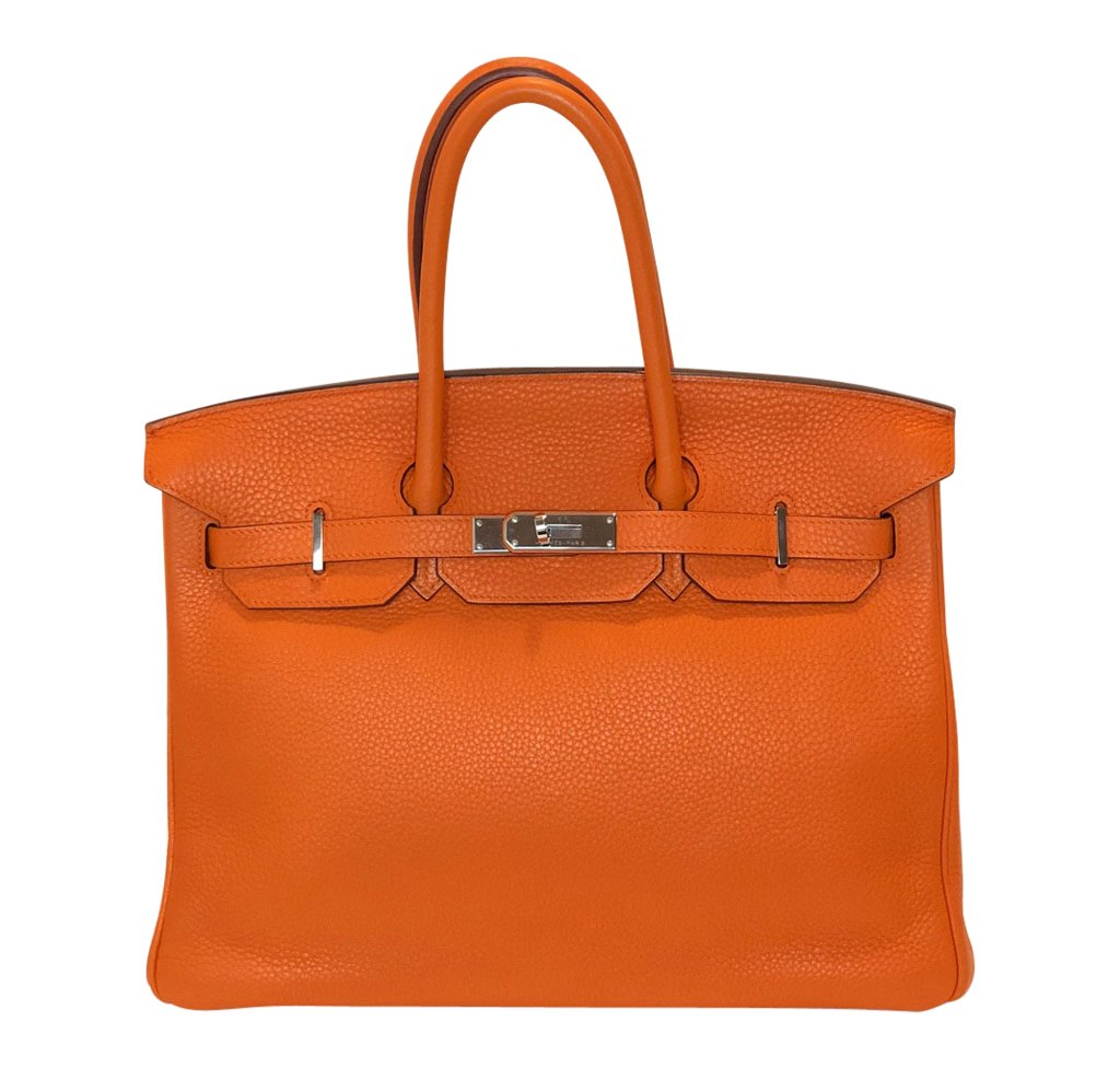 Hermès Birkin 35 Orange Togo PHW