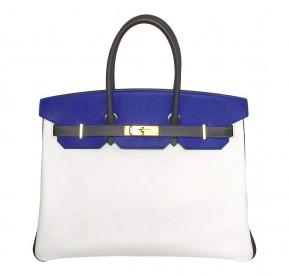 Hermès Birkin 35 Tri-Color Epsom Special Order Bag