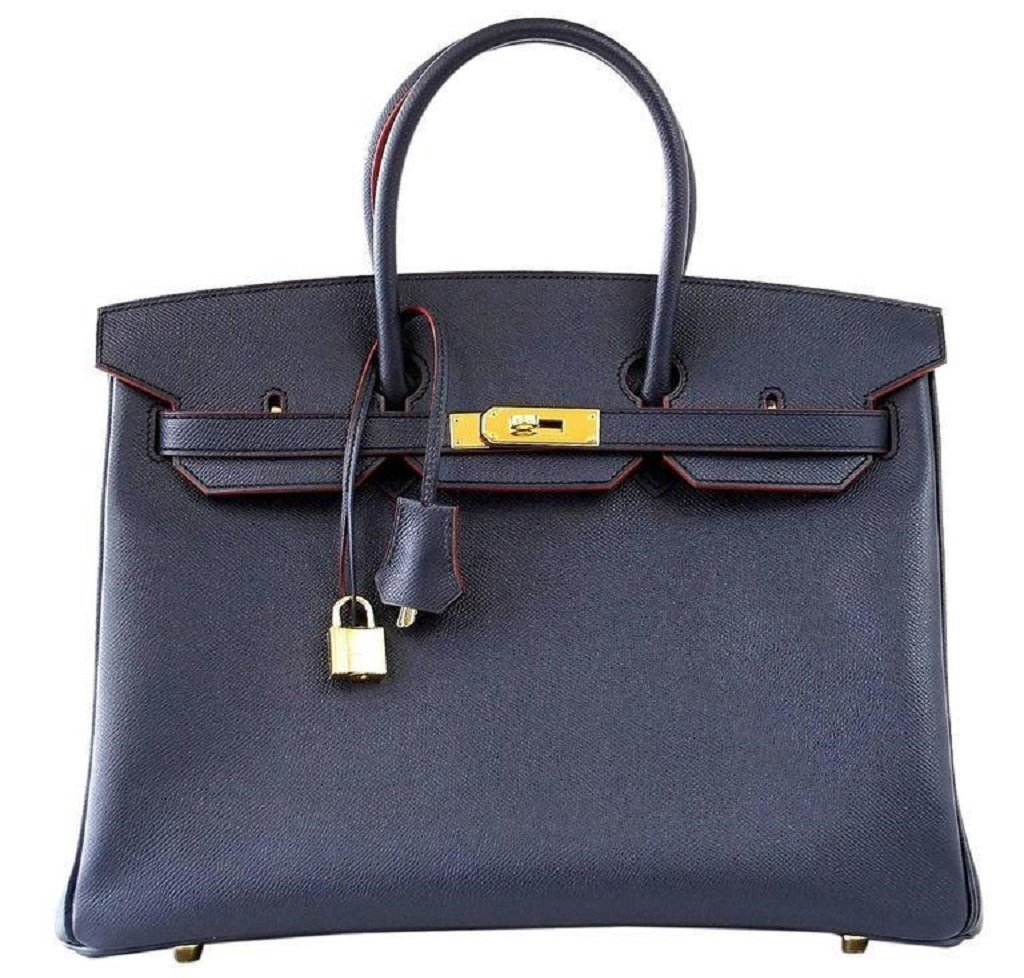 Hermès Birkin 35 Two-Tone Limited Edition Epsom Bag