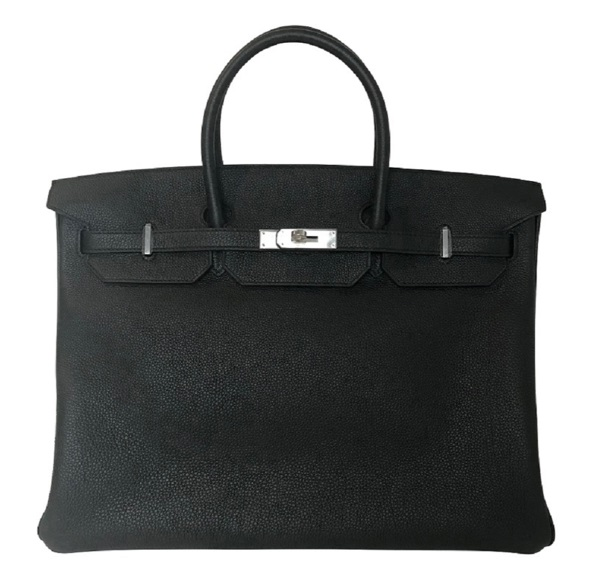 Hermès Birkin 40 Black Bag PHW