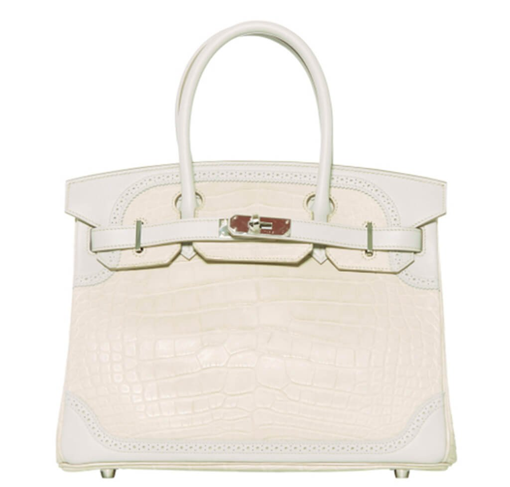 Hermès Ghillies Birkin 30 Bag Beton Limited Edition 6c0eb93b51494