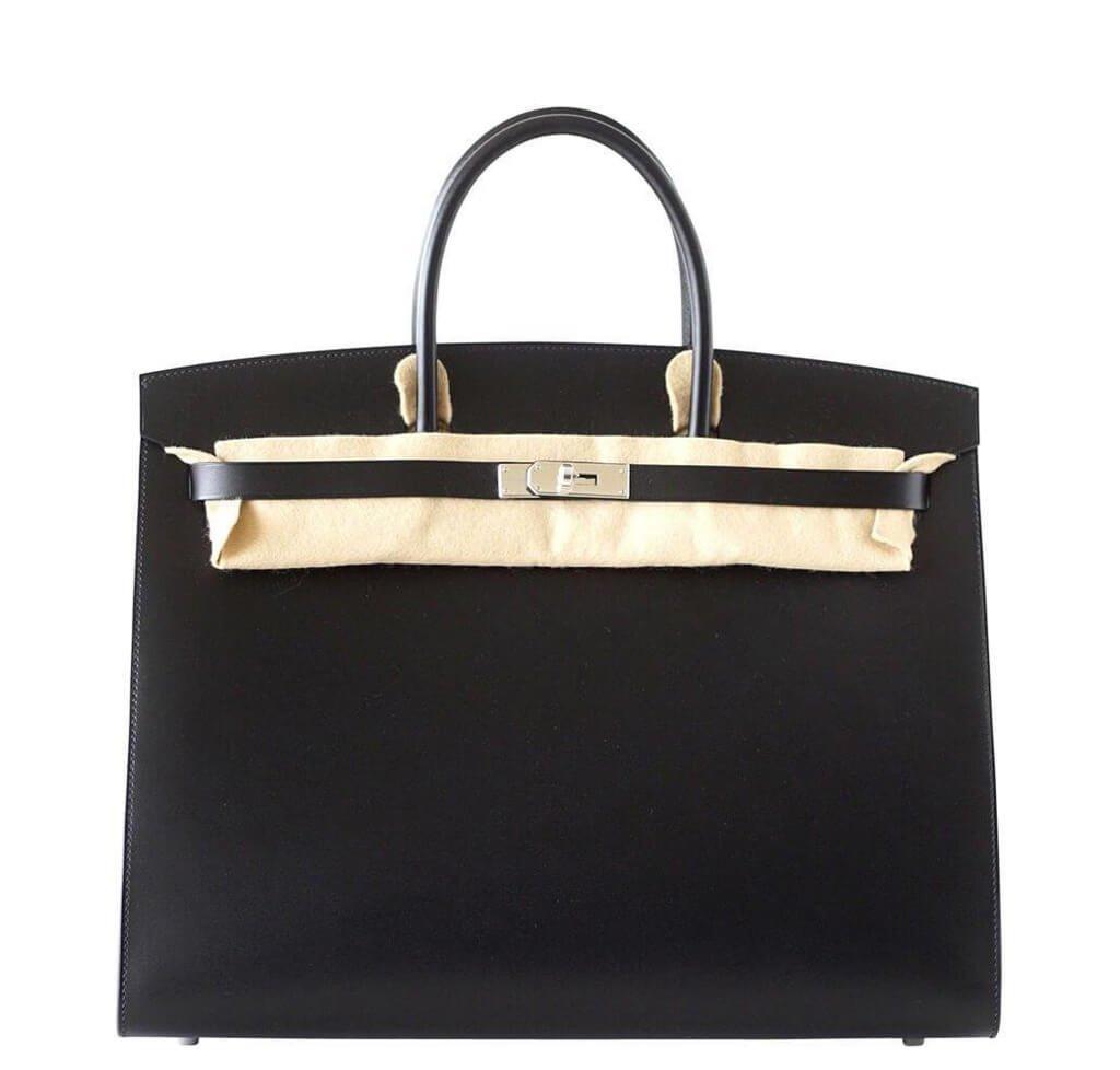 b4ae9dc75b10 Hermes Birkin Sellier Black Bag hermes birkin sellier 40 ...