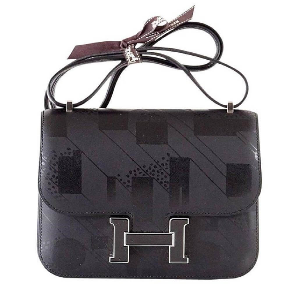 Hermès Constance 18 Limited Edition Noir Bag