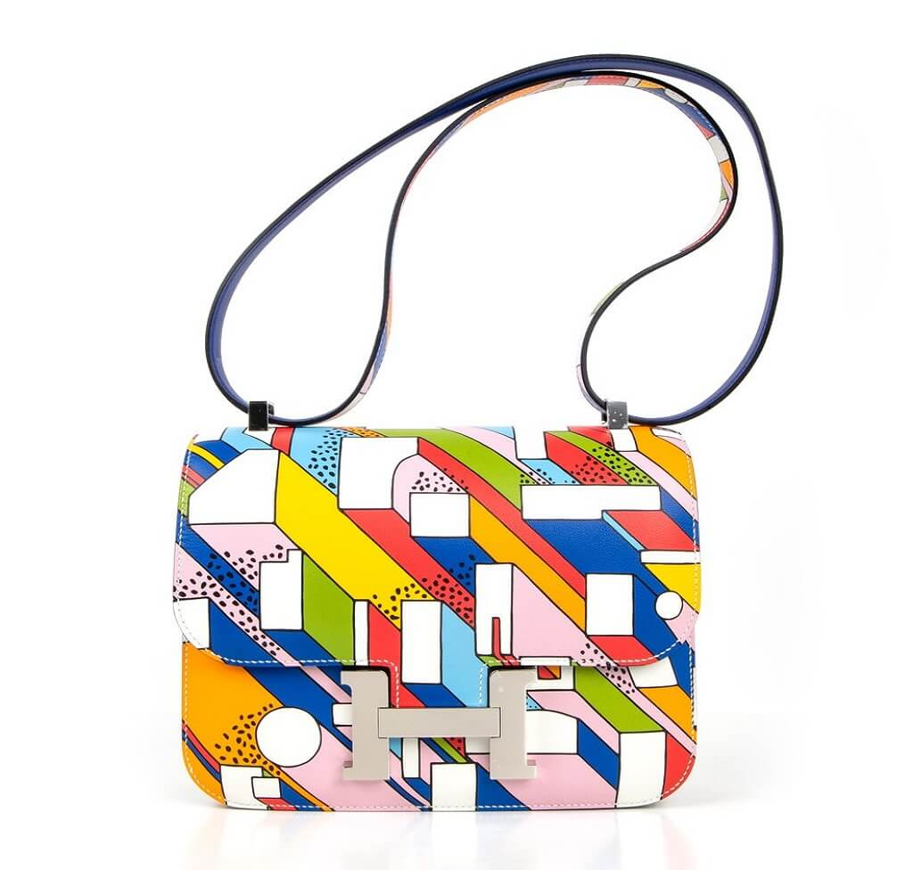 Hermès Constance 24 Limited Edition Multi-Color Bag
