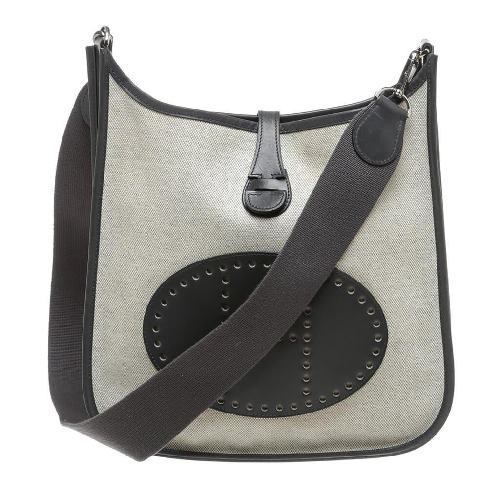 Hermes Evelyne I Messenger Bag Cream