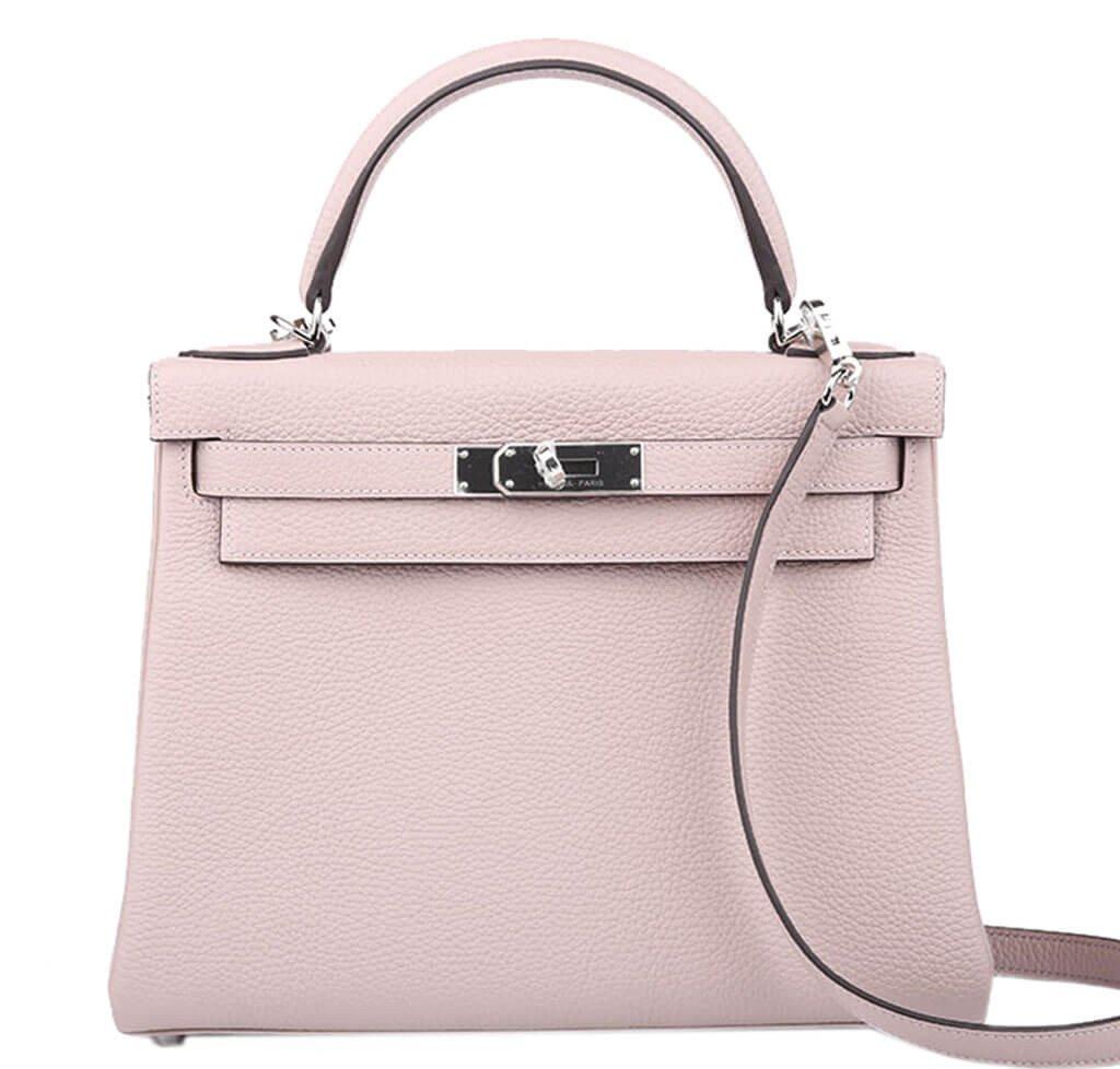 Hermès Kelly 28 Bag Glycine Togo PHW