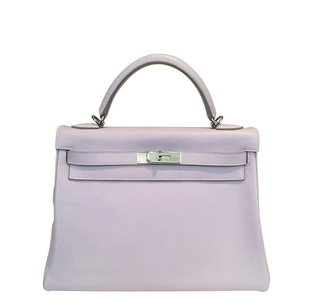 Hermès Kelly 32 Rose Dragee Bag PHW f699d6787d