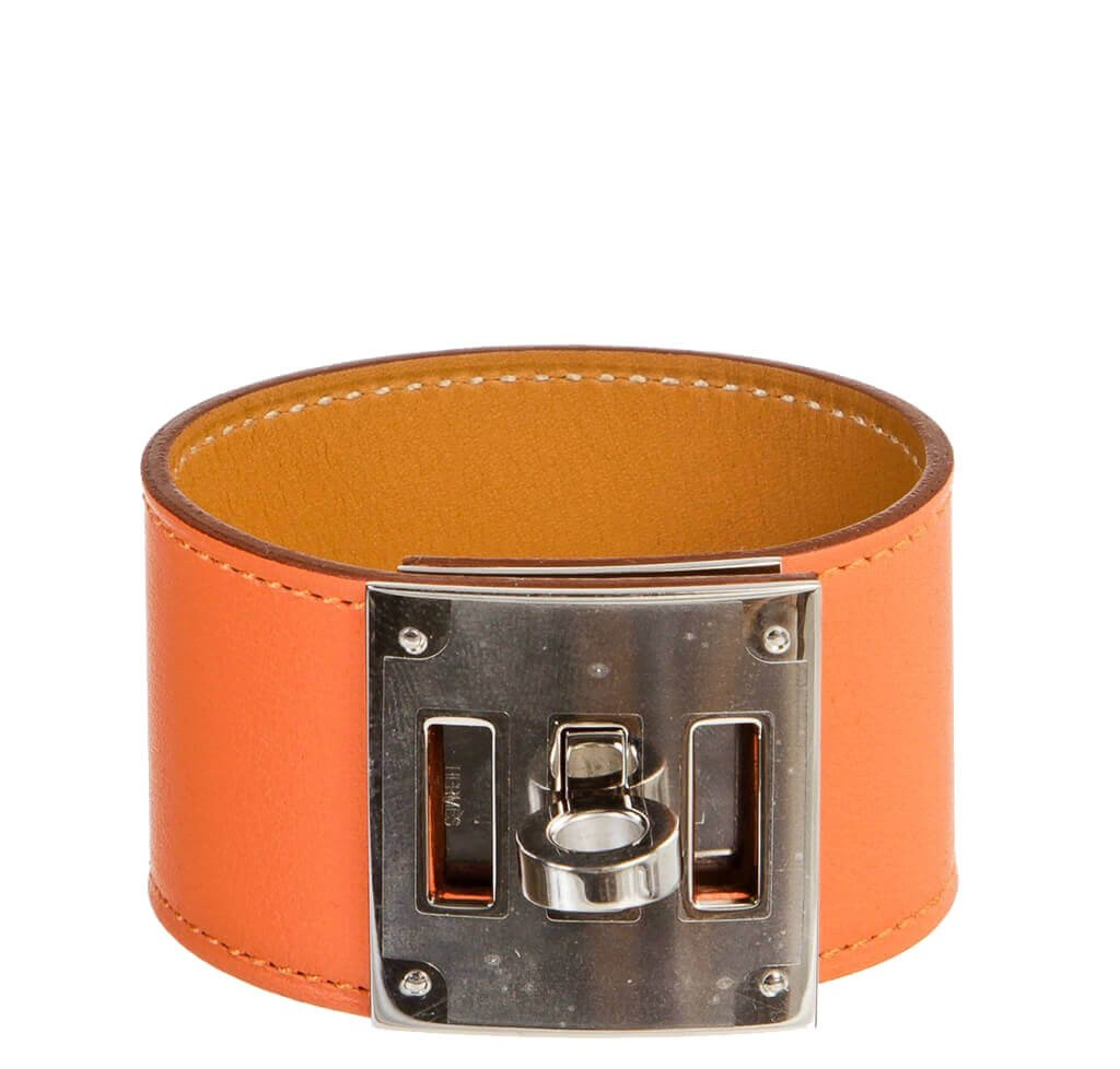 Hermes Kelly Dog Bracelet Mangue Swift