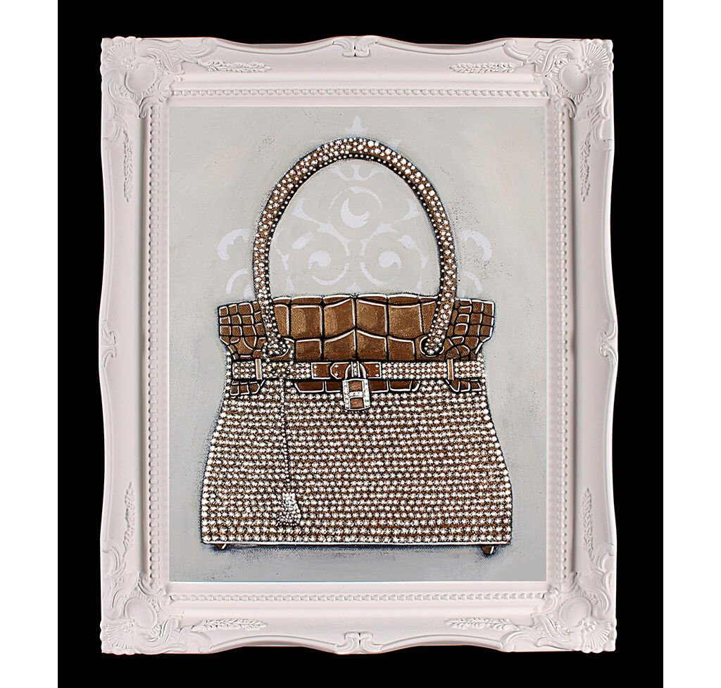 f192cd6e92 Limited Edition Hermès Birkin Sac-Bijou Giclée Painting