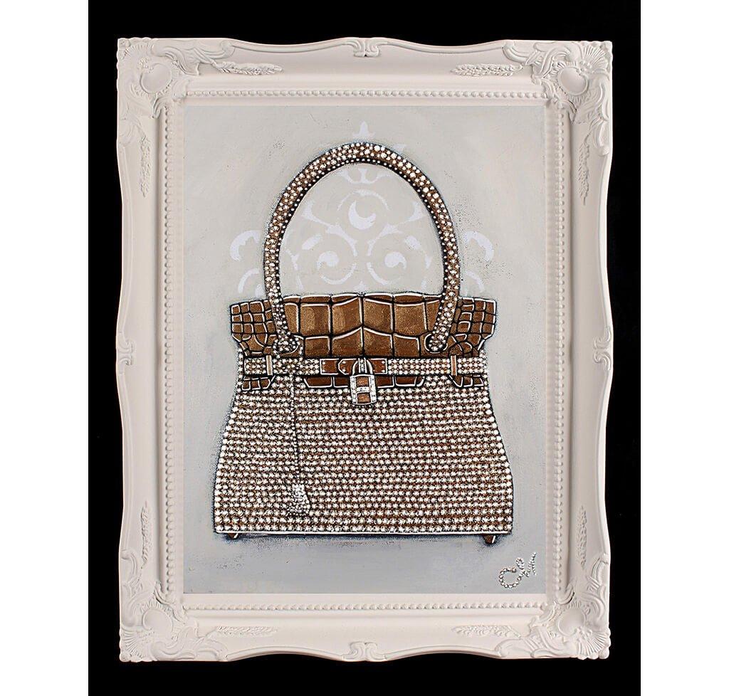 Original Hermès Birkin Sac-Bijou Painting