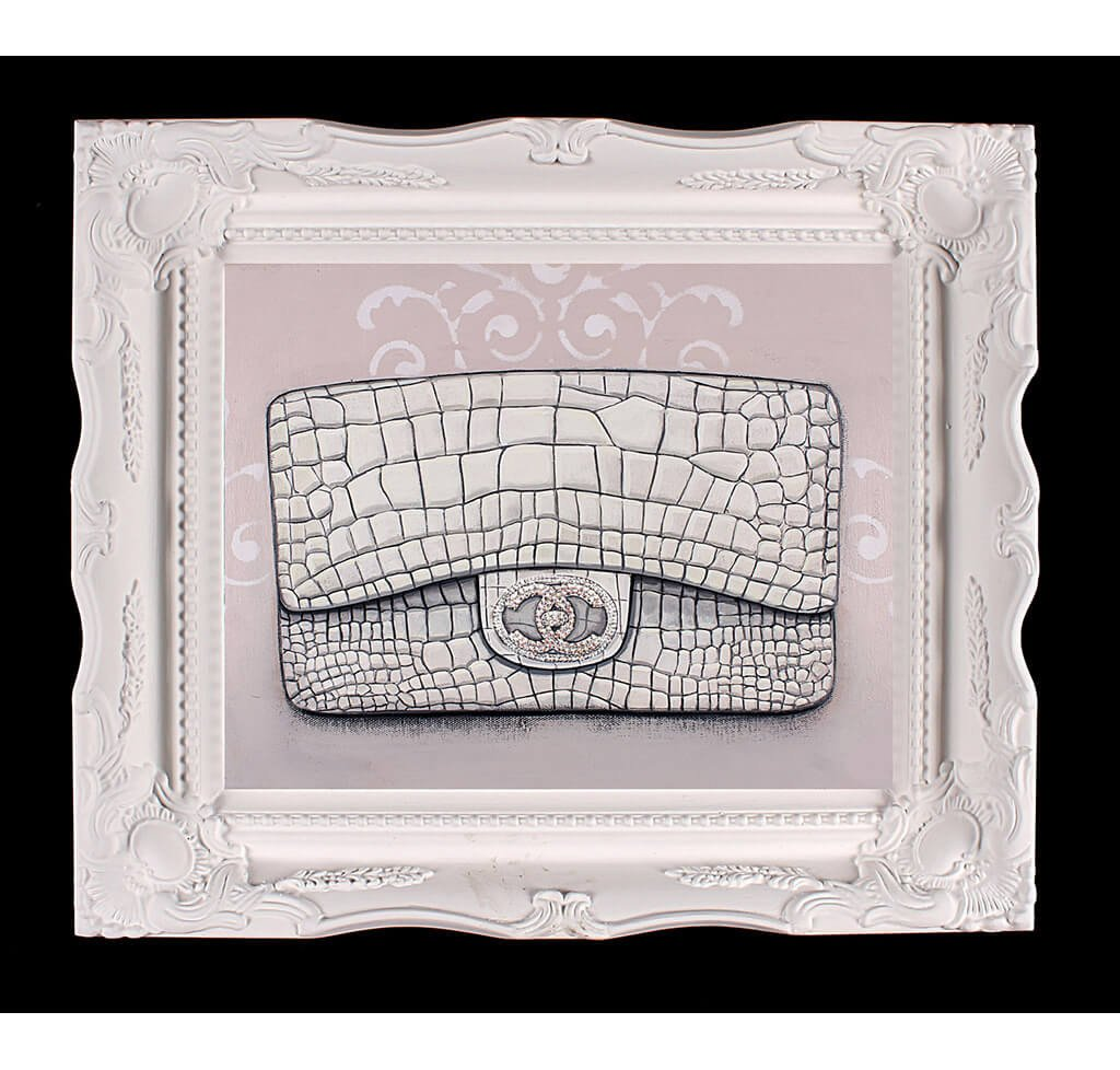 Small Limited Edition Chanel Diamond Forever Giclée