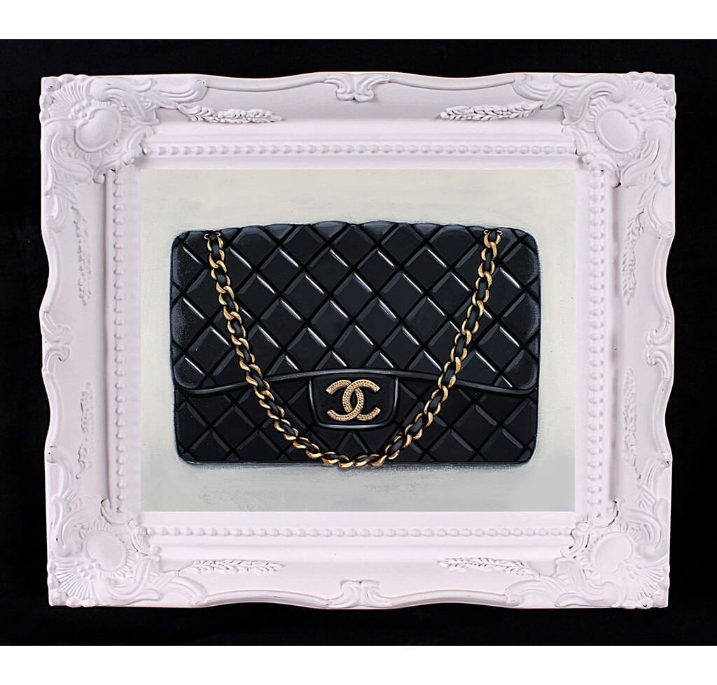 Small Limited Edition Timeless Chanel Giclée