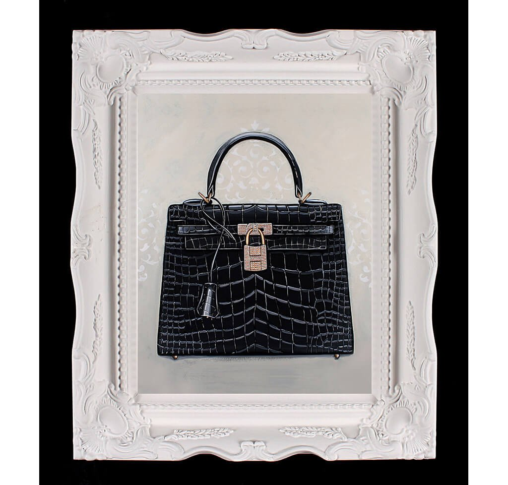 2ed148156a45 Small Limited Edition Timeless Hermès Kelly Giclée