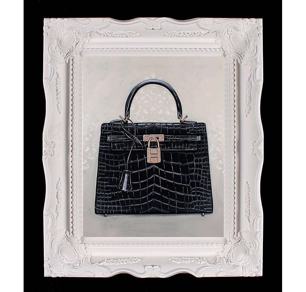 Small Limited Edition Timeless Hermès Kelly Giclée